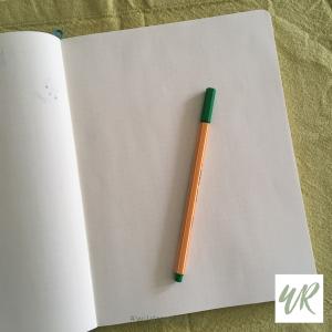 Blank page blank mind